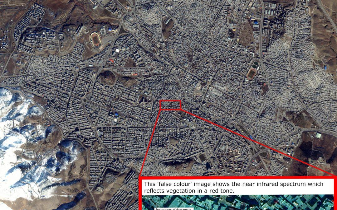 Satellite Imagery for Humanitarian Purposes
