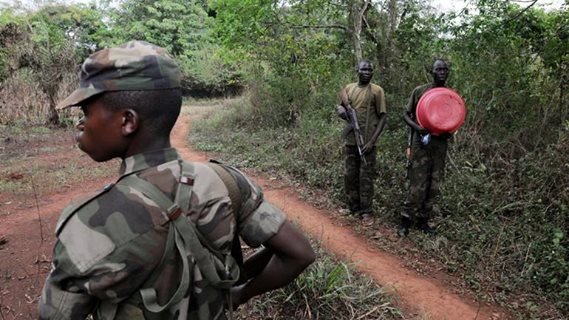 Congolese community workers viewed with suspicion by militants