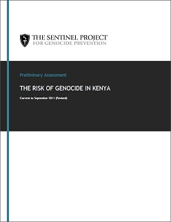 New – Updated Report on the Risk of Genocide in Kenya